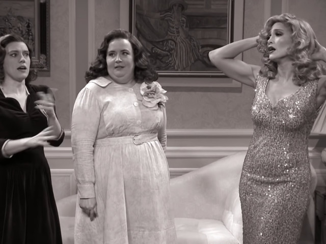 'SNL' casts JLo as a not-so-ugly stepsister in a wacky, murderous throwback sketch