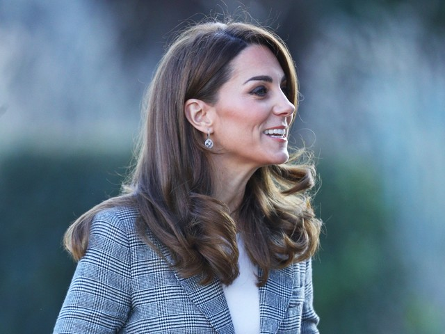 Kate Middleton recycles blazer by small Canadian brand Smythe for charity meet-and-greet