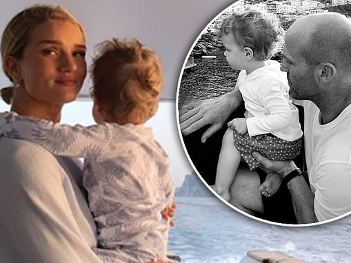 Rosie Huntington-Whiteley celebrates her son Jack's 2nd birthday in sweet snaps