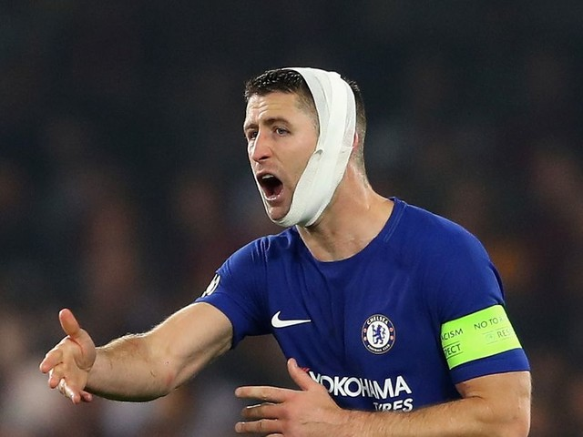 Great Leader Gary Cahill ghosted by Sarri, isn't doing anything about it