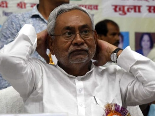 Nitish Kumar Holds High-Level Meeting, Places Officials Under Suspension