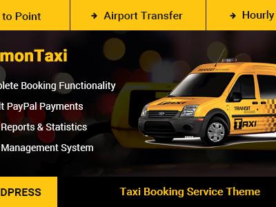 SimonTaxi - Taxi Booking WordPress Theme (Travel)