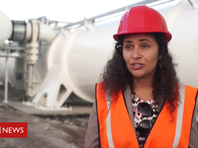 Hyperloop: A visit to the test site of Virgin's train of the future