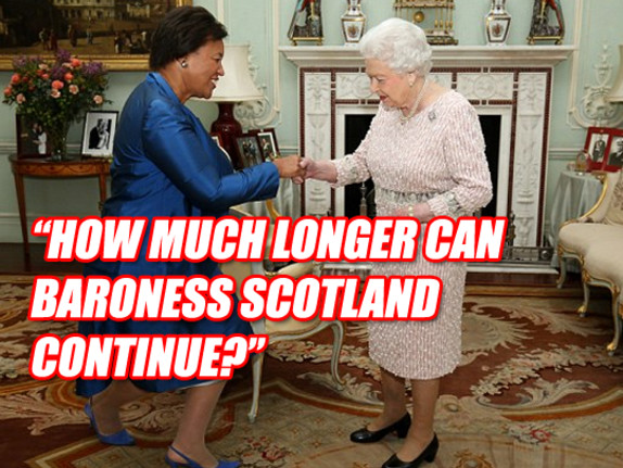 Commonwealth Nations Ask: How Much Longer Can Baroness Scotland Continue?