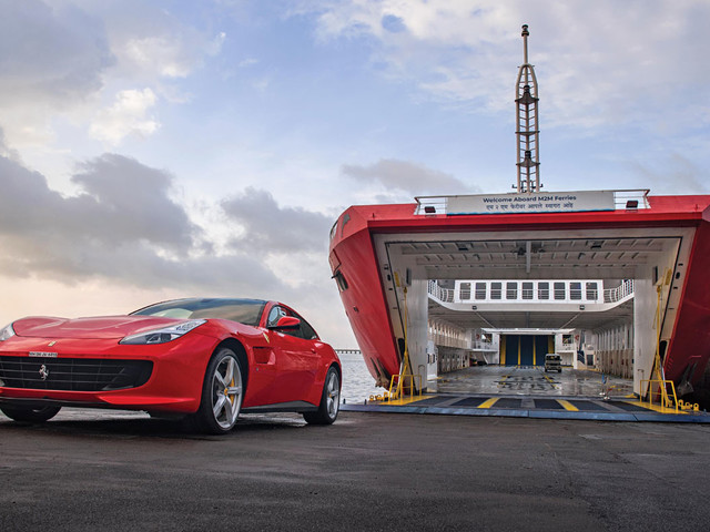 Sea Horse: Ferrying a Ferrari
