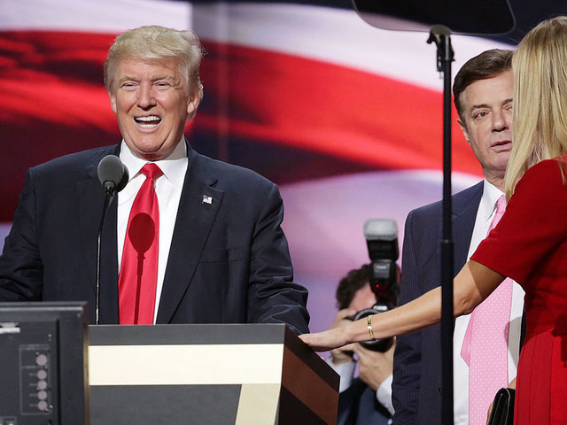 Trump and Manafort move from smokescreens to a scandal-powered trip under the bus