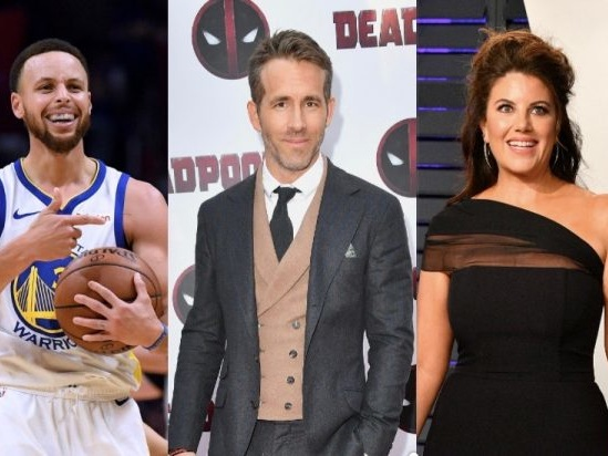 Ryan Reynolds, Stephen Curry, Monica Lewinsky Among 2019 Webby Award Winners