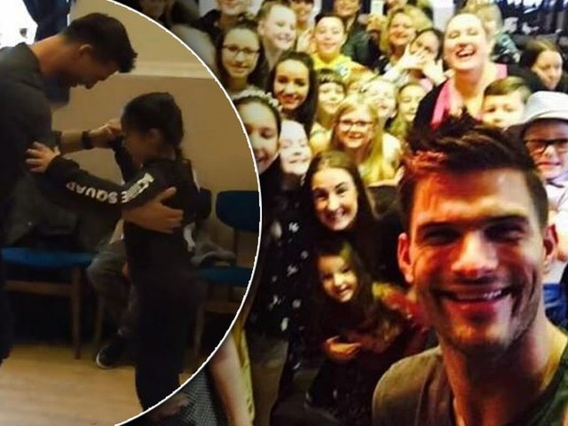 Watch as Strictly Come Dancing's Aljaz Skorjanec whisks a little girl off her feet for a step-perfect waltz