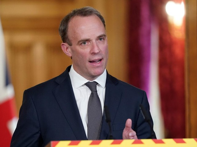 'Still too early' to lift lockdown measures says Dominic Raab