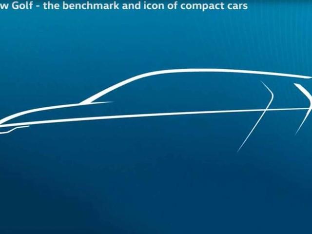 New Volkswagen Golf Mk8: high-tech cabin design shown