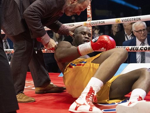 Adonis Stevenson 'in a critical condition' after knockout by Oleksandr Gvozdyk