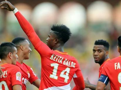 Balde off mark for Monaco, Ranieri's Nantes fly high