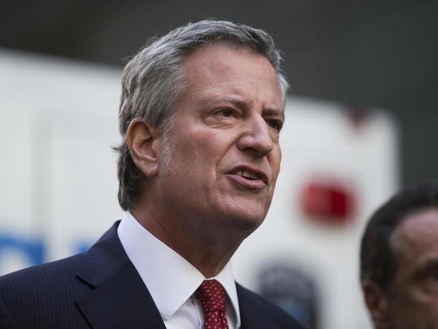 New York City mayor Bill de Blasio announces 2020 US presidential bid