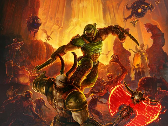 Doom Eternal gameplay and panel to be held this weekend at QuakeCon 2019