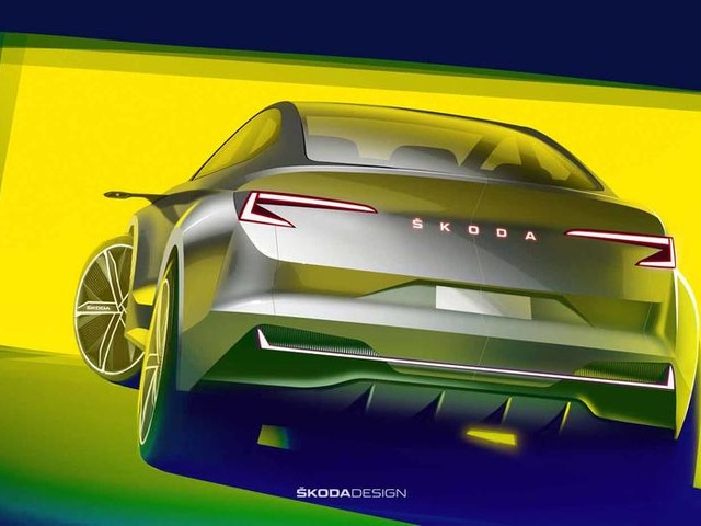 New Skoda Vision iV concept previews all-electric SUV
