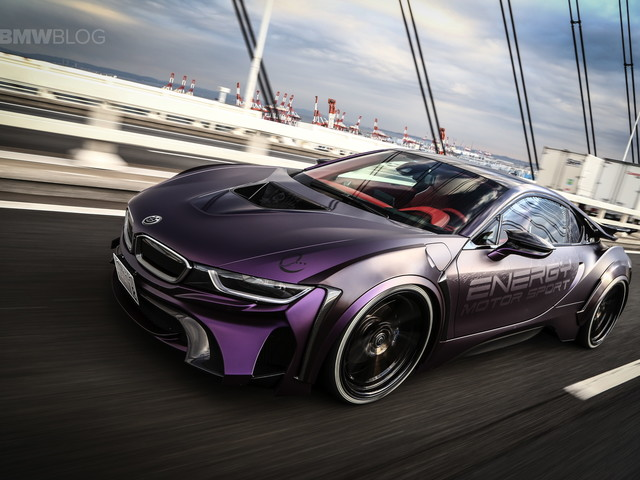 "BMW EVO i8 ""Dark Knight"" Edition is the Batmobile we all want"