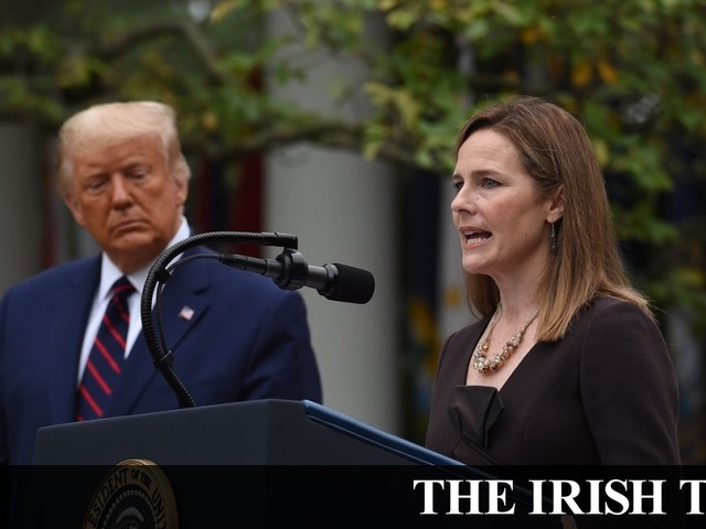 Trump selects Amy Coney Barrett for Supreme Court