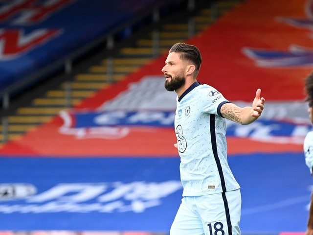 Giroud happy to score again, happy to see Abraham score as well