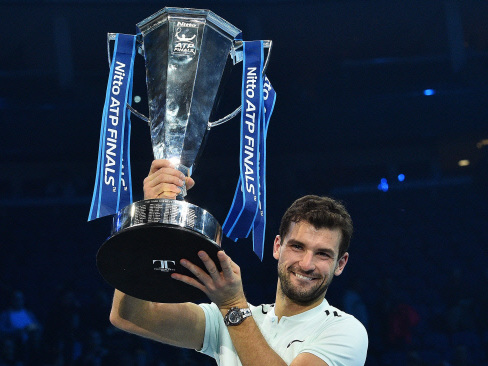 Dimitrov eyes Grand Slam after ATP Finals win