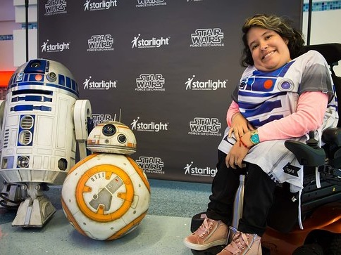 65,000 Star Wars-Themed Starlight Brave Gowns Given To Pediatric Patients