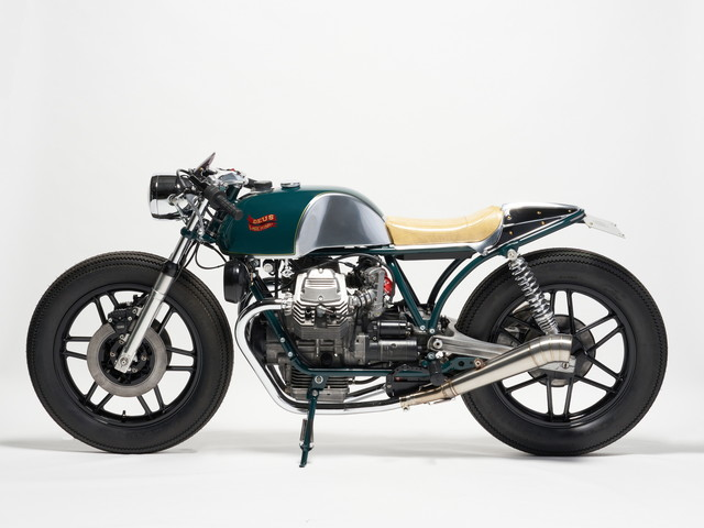 Custom Moto Guzzi V 50 Is Dripping With Style, Embraces the Retro Cafe Racer Spirit