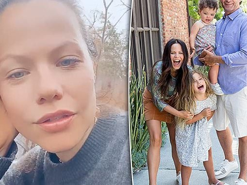 Tammin Sursok gives update on her husband Sean McEwen's battle with COVID