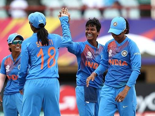 India women reach World T20 semi-finals after 52-run victory over Ireland