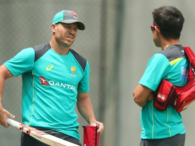 Warner on track but Australia call on Maxwell as cover