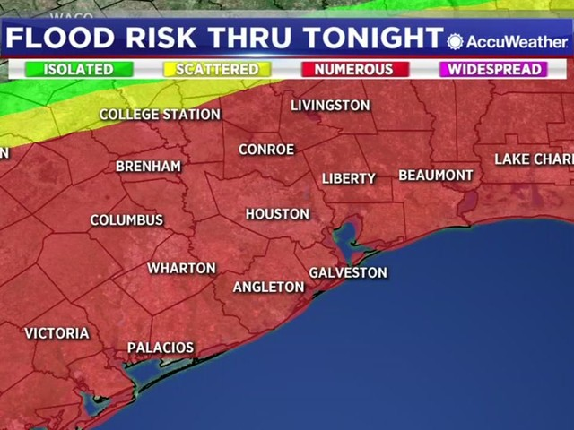 Houston Weather: Storms are exploding over the area. Hail, wind, and street flooding are likely overnight