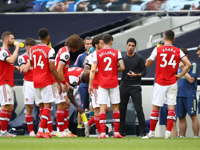 Mikel Arteta suggests he will rest key Arsenal players against Liverpool after playing 'crazy minutes'