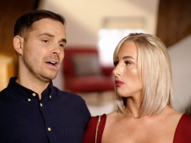 Married At First Sight stars Luke and Morag show off glamorous transformation