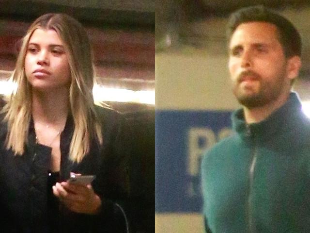 Sofia Richie & Scott Disick Hit Up Barneys in Beverly Hills