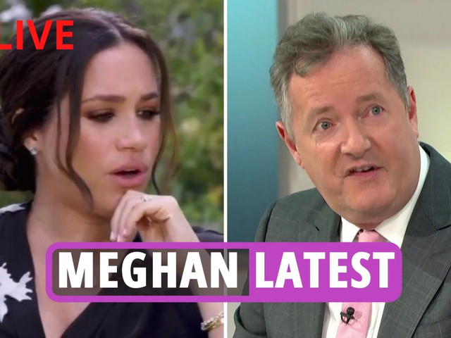 Meghan Markle latest news: Piers Morgan bashes 'Princess Pinocchio' for 'porkies' & dubs Prince Harry 'a greedy twerp'