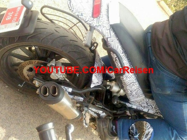 Benelli Leoncino Spied For The First Time In India