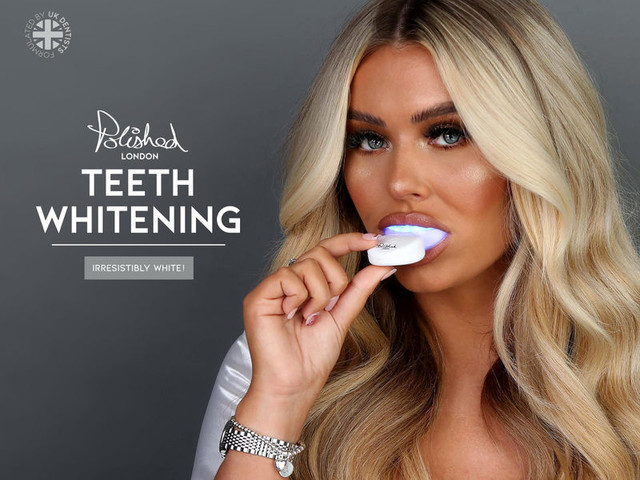 Cruelty-Free Teeth Whitening Products - Polished London Offers Effective Teeth Whitening At-Home (TrendHunter.com)