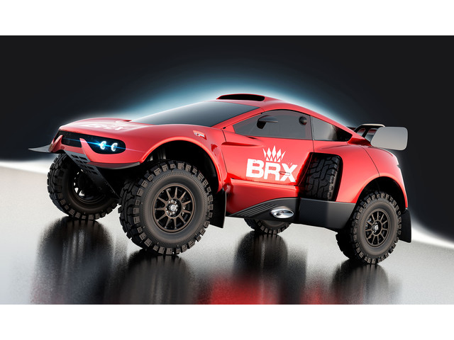 Prodrive reveals new Hunter T1+ to compete at Dakar 2022