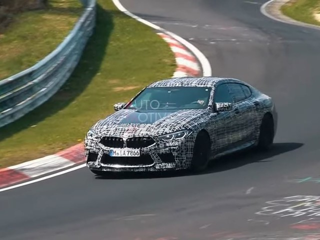 Video: 2020 BMW M8 Gran Coupe Spotted Looking Fast on the Ring