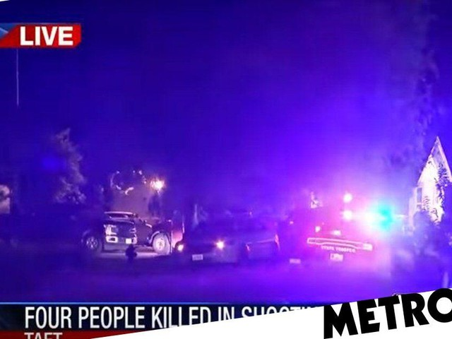 Grandfather and three grandsons shot dead at toddler's birthday party