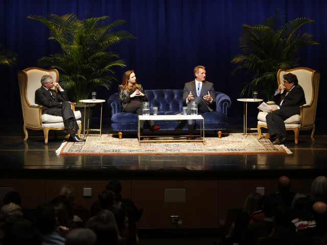 Flake calls for civility, tough leadership in Chancellor's Lecture Series appearance