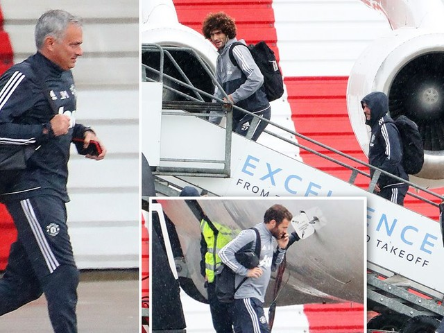 Manchester United take private jet to Southampton ahead of Saturday showdown
