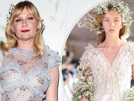 Kirsten Dunst reveals her wedding dress will be Rodarte