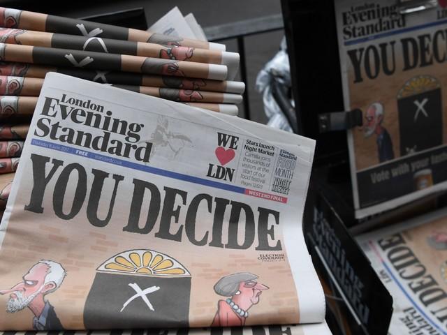 Does Osborne's Evening Standard Need To Reflect London's New Politics?
