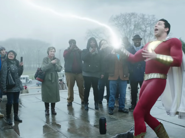 Shazam! new trailer just wants a lair