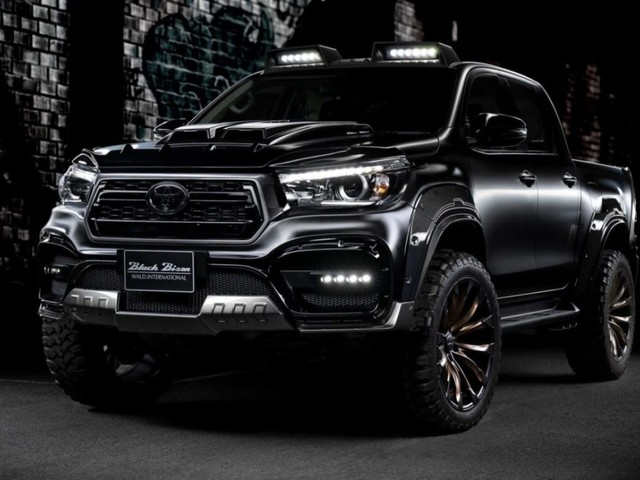 Toyota Hilux Black Bison Edition Looks Like A Beast