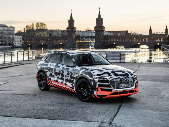 Charging the Audi e-tron; 248.5 miles in the WLTP cycle