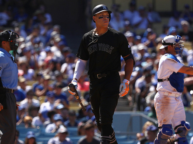 Yankees Squander Golden Opportunity In 9th, Lose To Dodgers 2-1