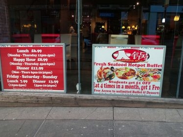 Review of East World Buffet Glasgow
