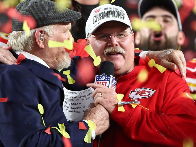 All hail Andy Reid, the NFL's most quotable coach