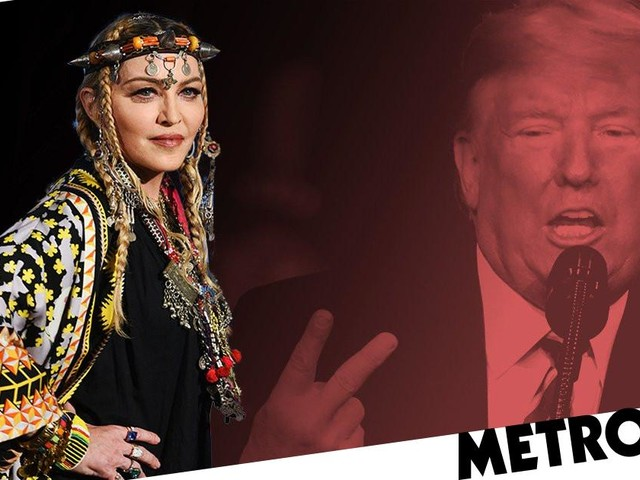 Madonna once refused to date Donald Trump according to explosive new book written by his niece