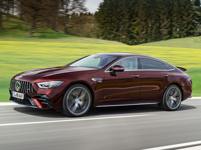 Updated Mercedes-AMG GT 4-Door Coupe revealed